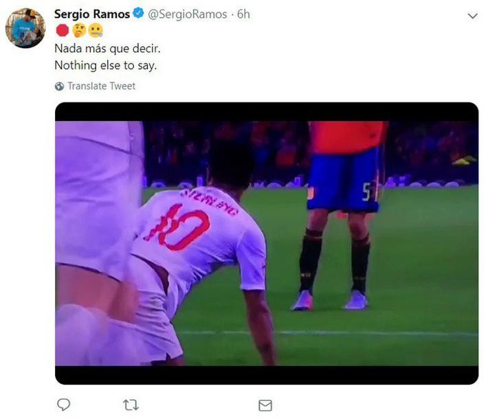 Bị ném đá vì chơi bẩn Sterling, Ramos đưa ra bằng chứng khiến tất cả phải câm lặng - Ảnh 2.