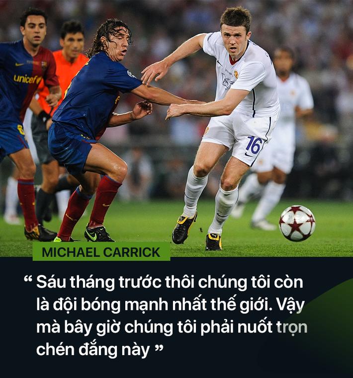 Michael Carrick: Suýt tan tành sự nghiệp bởi 2 năm trầm cảm do Messi gây ra - Ảnh 5.