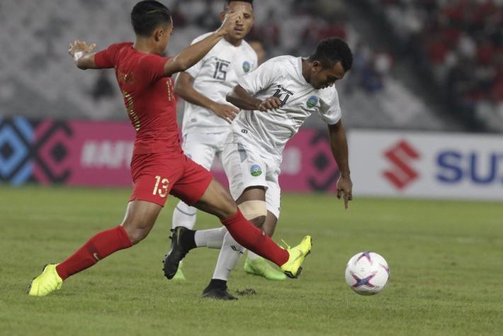 Chật vật đánh bại đối thủ yếu Timor Leste, đội tuyển Indonesia nhận mưa chỉ trích từ cổ động viên nhà - Ảnh 1.