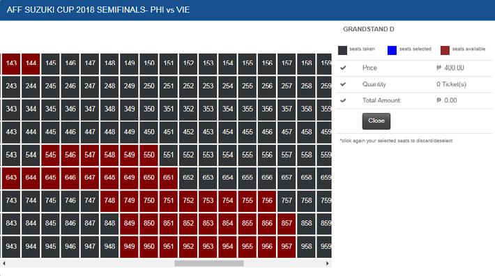 Khác với Việt Nam, khán giả tại Philippines có thể mua vé AFF Cup online siêu nhanh, chỉ trong một nốt nhạc - Ảnh 3.