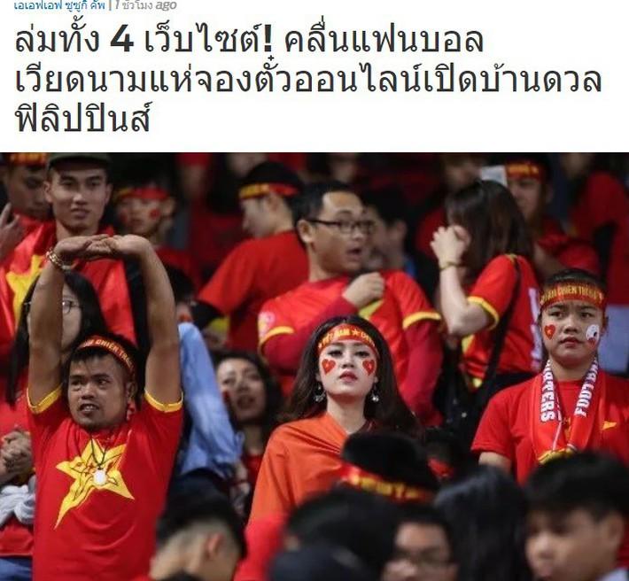 Báo Thái Lan ngỡ ngàng trước việc trang bán vé ở Việt Nam sập chỉ sau vài phút - Ảnh 1.