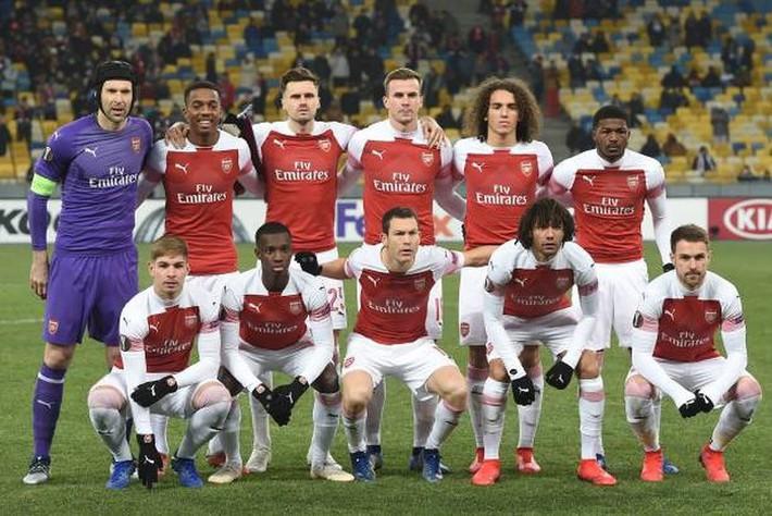 Toàn cảnh Vorskla 0-3 Arsenal: Pháo trẻ mở đại tiệc - Ảnh 1.