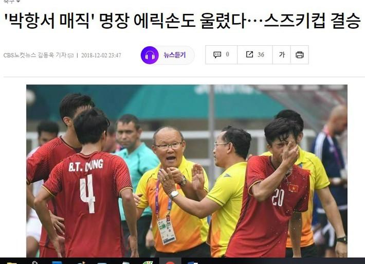 Sau màn tung hô, báo Hàn Quốc gửi thông điệp đầy cảnh tỉnh tới thầy trò HLV Park Hang-seo - Ảnh 1.