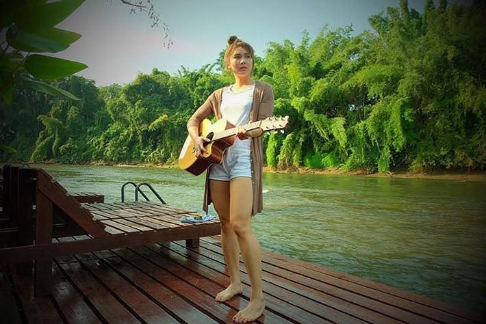 Dung nhan xinh đẹp của 'thiên thần bóng chuyền' Thái Lan - Ảnh 12.