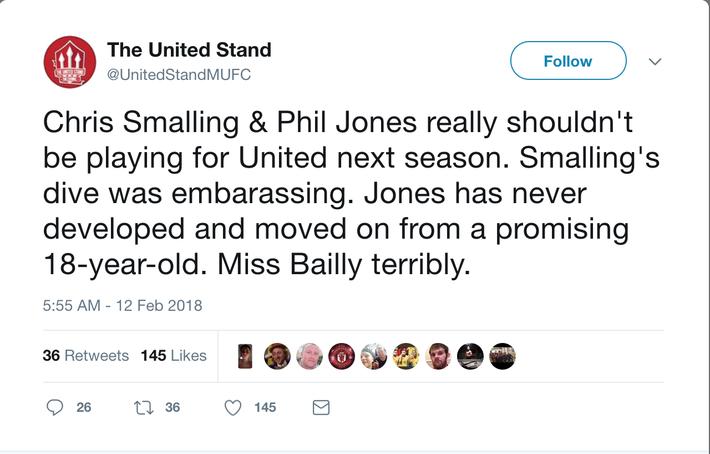 Phil Jones và Chris Smalling là cặp trung vệ 'thảm hoạ' của M.U - Ảnh 5.