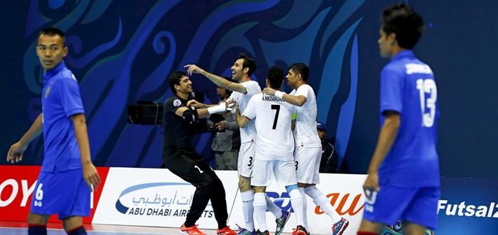 Bán kết Futsal châu Á: Sạch bóng ngựa ô - Ảnh 4.