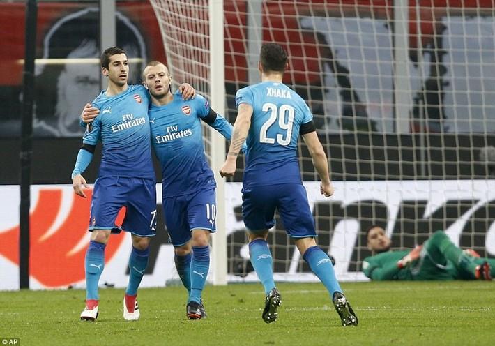 Arsenal đả bại Milan: Trận thắng giúp Wenger giữ ghế? - Ảnh 3.