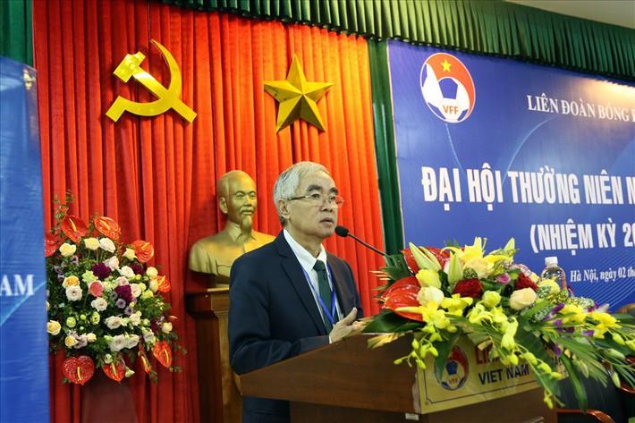 """Chủ tịch VFF Lê Hùng Dũng: """"Chưa ấn định thời gian tổ chức Đại hội VFF nhiệm kì VIII"""" - Ảnh 1."""