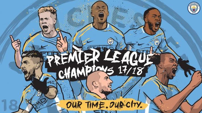 Vô địch sớm 5 vòng đấu, Man City còn mục tiêu gì tại Premier League? - Ảnh 1.