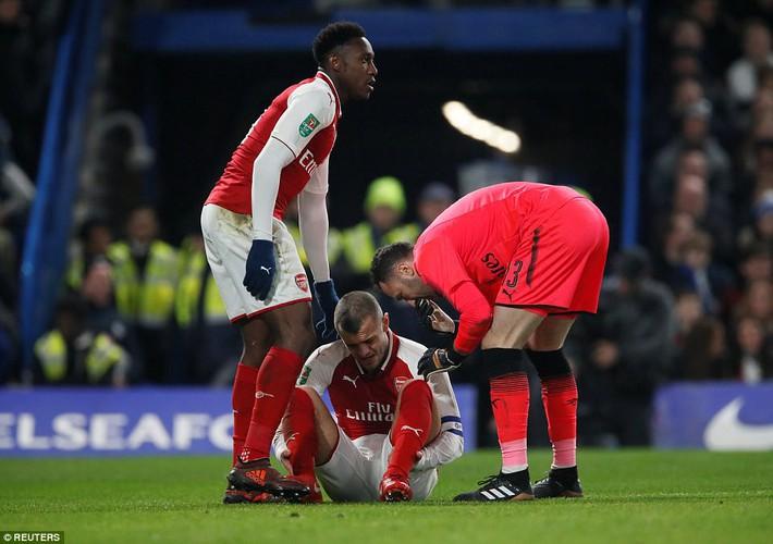 Morata tiếp tục tịt ngòi, Arsenal trả giá đắt trên Stamford Bridge - Ảnh 2.
