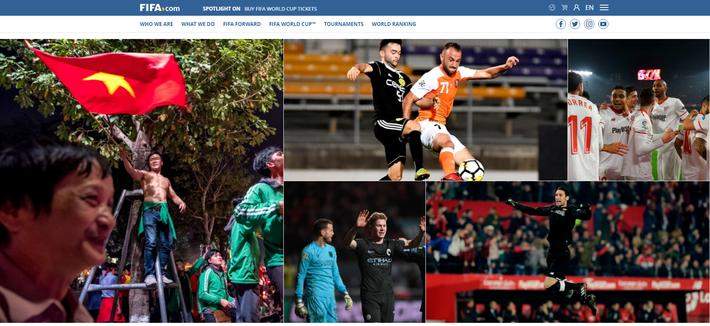 FIFA, AFC, báo châu Á đồng loạt đăng tin Việt Nam ăn mừng thâu đêm suốt sáng - Ảnh 1.