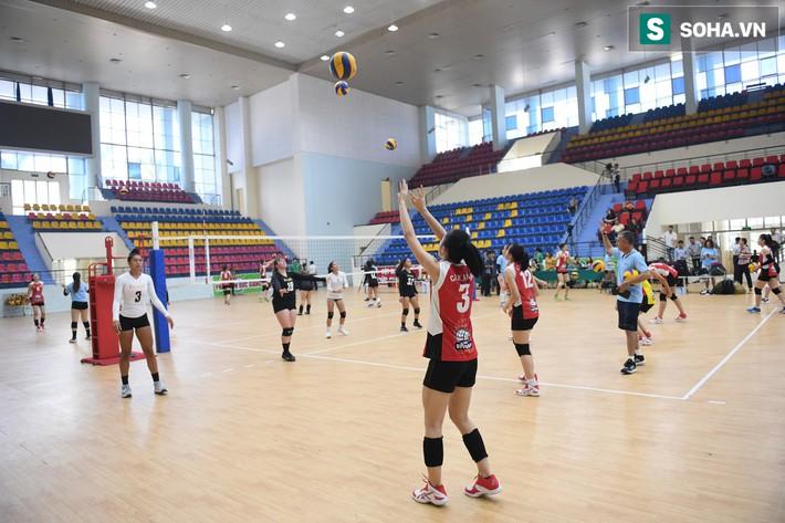 Các nữ VĐV xinh đẹp tuổi teen Hoa Kỳ giao lưu bóng chuyền tại Việt Nam - Ảnh 6.