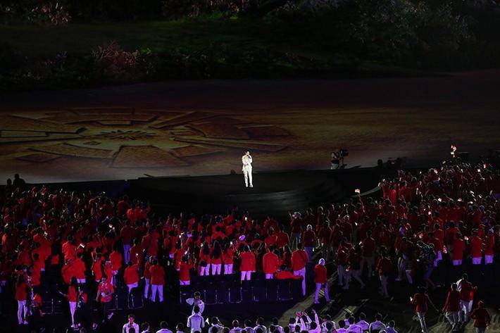 Trực tiếp lễ khai mạc đầy tham vọng của chủ nhà Asiad 2018 - Indonesia 4