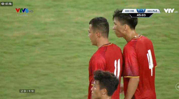 Kết thúc: Tấn công mãn nhãn, U23 Việt Nam thắng thuyết phục U23 Palestine - Ảnh 6.