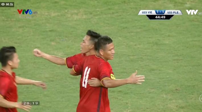 Kết thúc: Tấn công mãn nhãn, U23 Việt Nam thắng thuyết phục U23 Palestine - Ảnh 5.