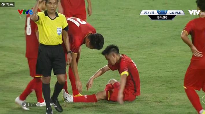 Kết thúc: Tấn công mãn nhãn, U23 Việt Nam thắng thuyết phục U23 Palestine - Ảnh 3.