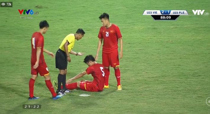 Kết thúc: Tấn công mãn nhãn, U23 Việt Nam thắng thuyết phục U23 Palestine - Ảnh 2.