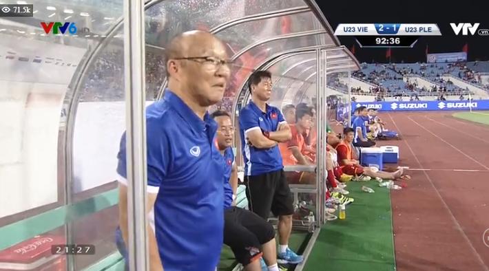 Kết thúc: Tấn công mãn nhãn, U23 Việt Nam thắng thuyết phục U23 Palestine - Ảnh 1.