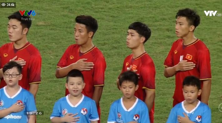 Kết thúc: Tấn công mãn nhãn, U23 Việt Nam thắng thuyết phục U23 Palestine - Ảnh 20.
