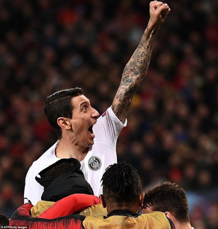 Bị fan MU ngược đãi và bị đội trưởng MU chơi xấu, ngôi sao PSG đáp trả bằng 2 pha kiến tạo đẳng cấp - Ảnh 8.
