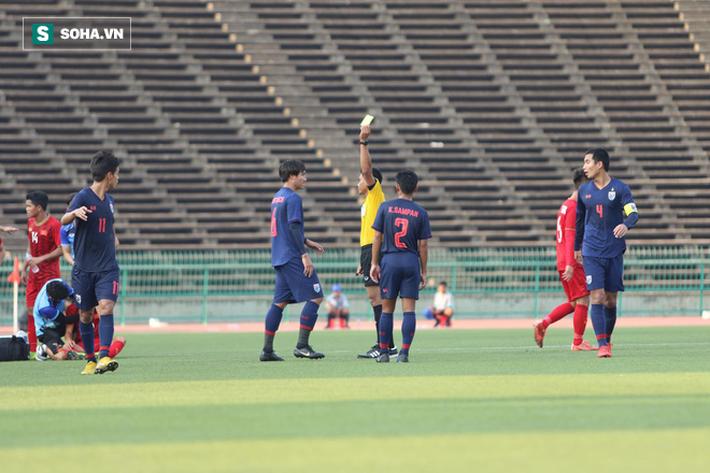 Ép sân nghẹt thở, U22 Việt Nam hiên ngang vào bán kết, đẩy Thái Lan gặp Campuchia - Ảnh 2.