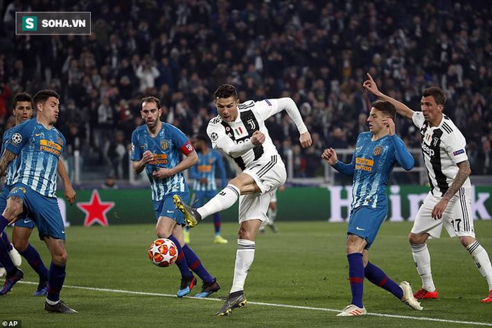 Ronaldo bật chế độ siêu nhân, lập hat-trick giúp Juventus đè bẹp Atletico Madrid - Ảnh 1.
