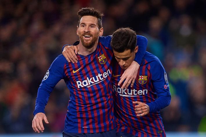 Ronaldo gọi, Messi dõng dạc trả lời bằng cơn mưa bàn thắng cùng Barcelona - Ảnh 3.