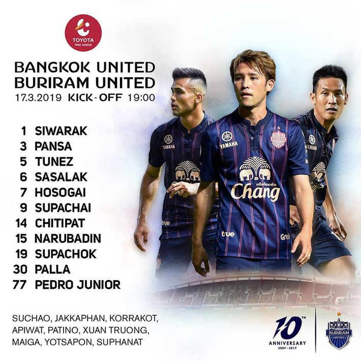 TRỰC TIẾP Bangkok United vs Buriram United (19h00): Dấu hỏi dành cho Xuân Trường - Ảnh 1.