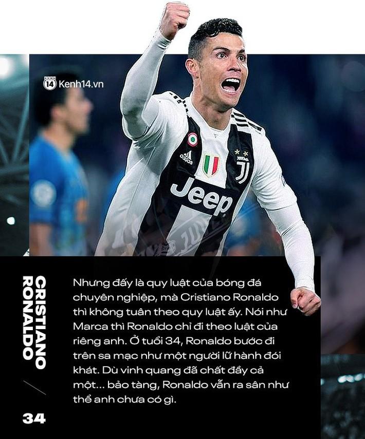 Cristiano Ronaldo: Tuổi 34, sao anh còn khát khao nhiều đến vậy? - Ảnh 2.