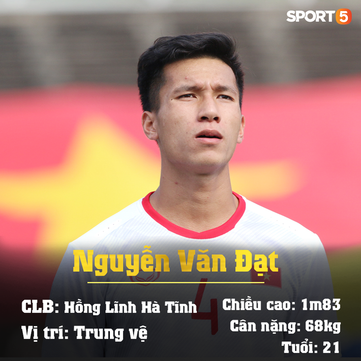 Trung vệ Nguyễn Văn Đạt: Cậu Tư em điển trai và nghệ sĩ của U23 Việt Nam - Ảnh 18.