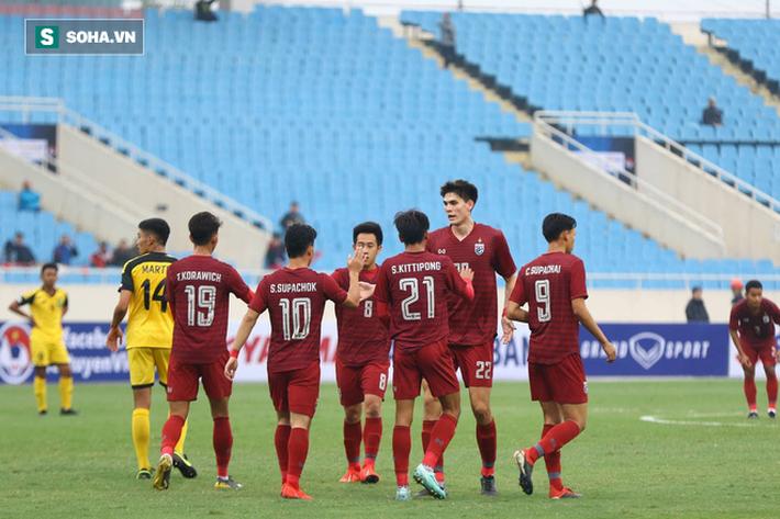 Hài lòng về màn hạ gục đậm đà đối phương, HLV Thái Lan gửi lời tuyên chiến đến U23 Việt Nam - Ảnh 1.