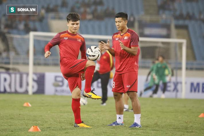 Quang Hải: Tôi không bất ngờ với tỉ số 4-0 cho U23 Việt Nam - Ảnh 1.