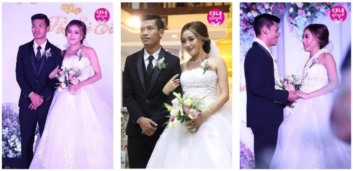 Messi Myanmar lên xe hoa, cưới nàng MC - diễn viên đẹp như mộng - Ảnh 1.