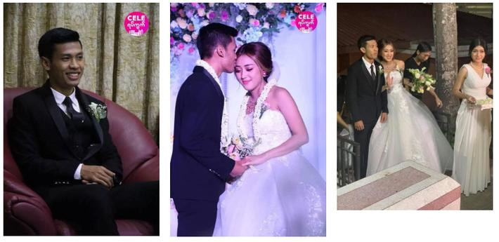 Messi Myanmar lên xe hoa, cưới nàng MC - diễn viên đẹp như mộng - Ảnh 2.