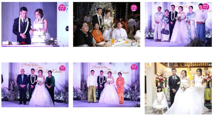 Messi Myanmar lên xe hoa, cưới nàng MC - diễn viên đẹp như mộng - Ảnh 3.