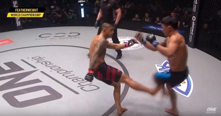 Bay người lên gối, võ sĩ gốc Việt Martin Nguyễn giành chiến thắng đầy ấn tượng - Ảnh 2.