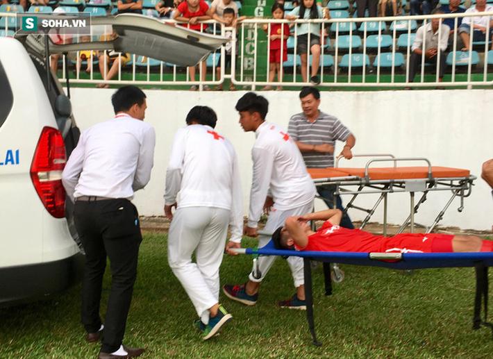 Gà son của HLV Park Hang-seo chấn thương nặng, vào TP.HCM cấp cứu ngay trong đêm - Ảnh 3.