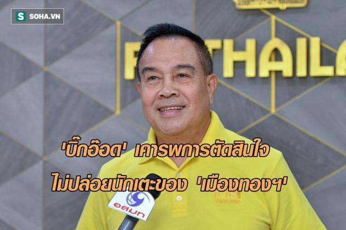 """Nguy cơ mất 6 trụ cột, Thái Lan sẽ """"lâm nguy"""" trước đội tuyển Việt Nam ở King's Cup? - Ảnh 1."""