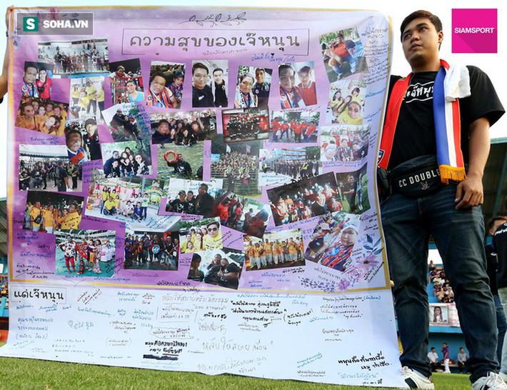 Nữ đại gia Thái Lan bật khóc khi tưởng niệm các CĐV thiệt mạng trong vụ tai nạn thảm khốc - Ảnh 13.