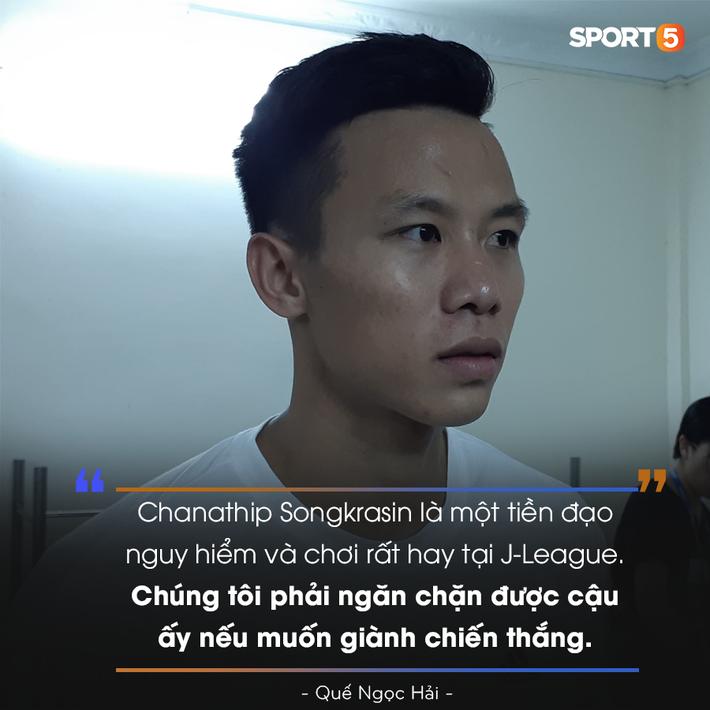 Quế Ngọc Hải quyết chặn đứng Messi Thái, chỉ ra bất lợi lớn nhất của Việt Nam trước thềm Kings Cup - Ảnh 1.
