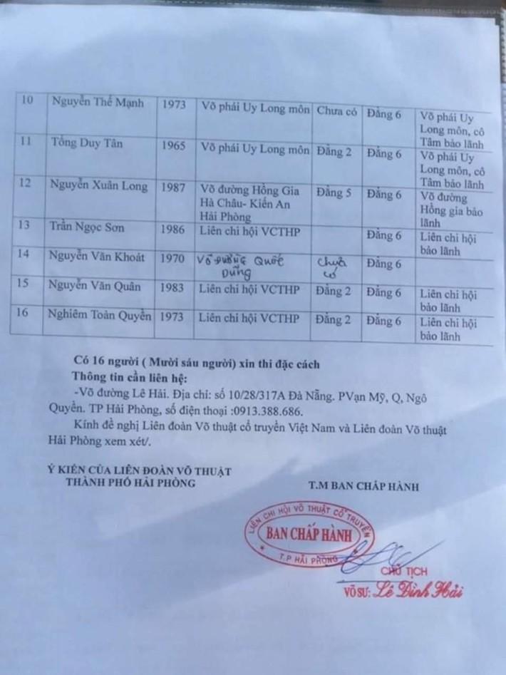Võ lâm Việt tranh cãi gay gắt sau vụ clip võ công rởm ở Hải Phòng bị hé lộ - Ảnh 4.