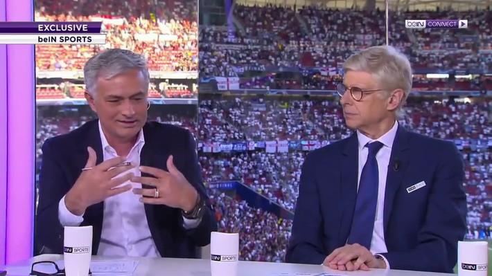 Hình ảnh khó tin nhất Champions League: Mourinho và Wenger mỉm cười biến thù thành bạn - Ảnh 4.