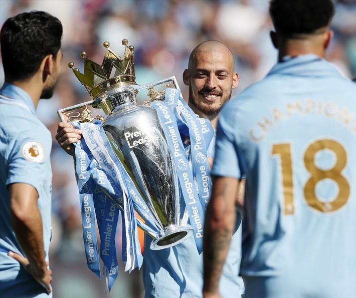 David Silva sẽ rời Man City: 10 năm, một huyền thoại David bé nhỏ - Ảnh 2.