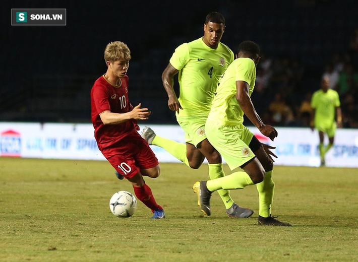 Công Phượng trải lòng sau quả đá penalty hỏng ăn trước Curacao - Ảnh 1.