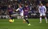 """Messi bỏ lỡ penalty, Barca chật vật thắng đội """"chiếu dưới"""""""