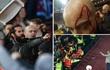 """Fan Chelsea bị """"tẩn"""" như phim hành động ở trận thua đau"""