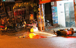 TP.HCM: Té xuống đường, nam thanh niên bị cán tử vong, tài xế bỏ lại xe bồn đang nổ máy