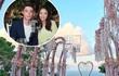 Toàn cảnh lễ đường tràn ngập hoa của cặp đôi Hoắc Kiến Hoa - Lâm Tâm Như