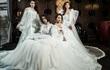 Học trò Hà Hồ đẹp lộng lẫy với trang phục cô dâu