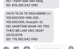 Khách nhận lại 100 triệu đồng từ Maritime Bank
